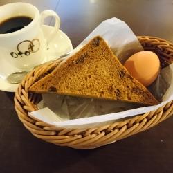 レーズンシナモントースト  (モーニング限定)